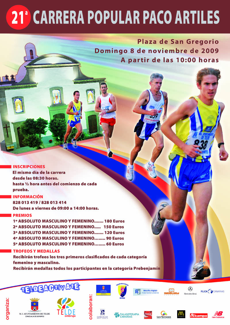 CARRERA POPULAR PACO ARTILES
