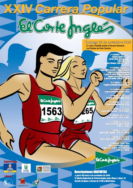 "CARRERA POPULAR ""EL CORTE INGLES"""