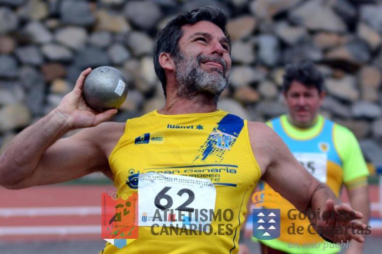 EL CAIGC OBTIENE 12 PODIOS EN EL CAMPEONATO DE CANARIAS MÁSTER DE PISTA DE INVIERNO